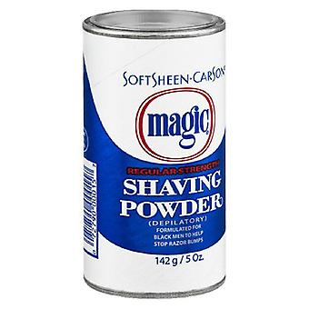Magic shave shaving powder depilatory, regular strength, 5 oz