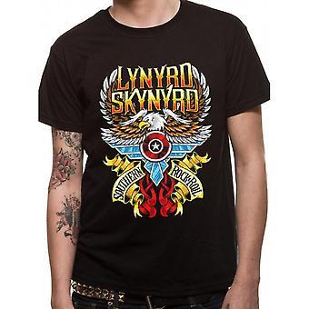 Lynyrd Skynyrd Unisex Adults Southern Rock And Roll Design T-shirt