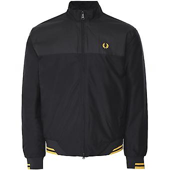 Fred Perry Pique Print Brentham Jacket J7529 102