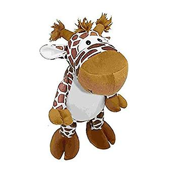 """Petlou Medium Plush Giraffe 8"""" - Dog Toy"""