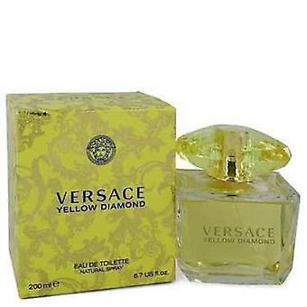 Versace Sarı Elmas Tarafından Versace Eau De Toilette Sprey 6.7 Oz (kadın) V728-547948