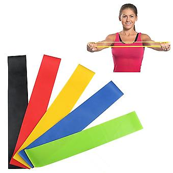 5x Latex Sport Band incl. borsa Strech Fitness Resistance Band Yoga Strap flessibile