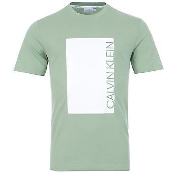Calvin Klein Cut Out Logo Print T-Shirt