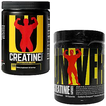 Universal Nutrition Creatine Monohydrate Capsules, Available in 2 Sizes