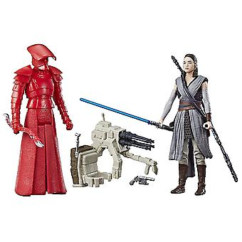 Pacchetto Star Wars: Rey (Jedi Training) e Elite Praetorian Guard Force Link 2