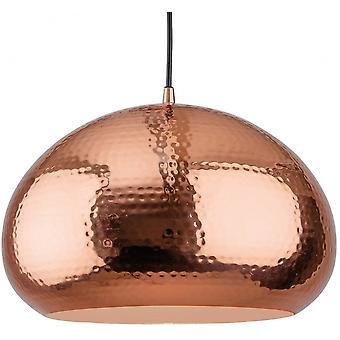 Firstlight Bistro Modern Copper Oval Dome Pendant Ceiling Light