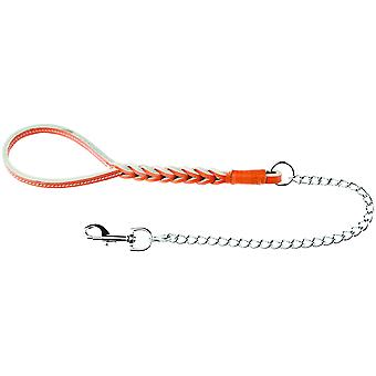 Ferribiella Buffalo Leash W. Short Chain  (Dogs , Collars, Leads and Harnesses , Collars)