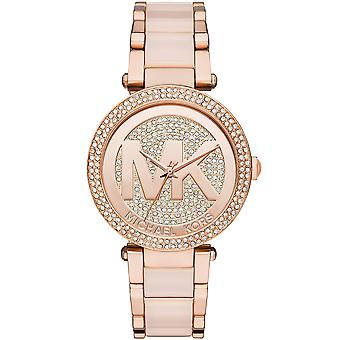 Michael Kors Ladies' Parker Watch - MK6176 - Pink