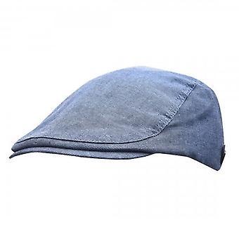 Ted Baker Carbz blå flat cap