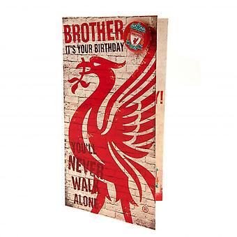 بطاقة عيد ميلاد الأخ نادي ليفربول
