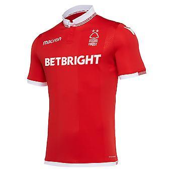 Nottingham Forest FC Officiële Voetbal Cadeau Mens Home Away Kit Shirt