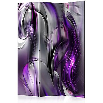 Artgeist Room Divider Purple Swirls Room Dividers (Decoratie , Vouwschermen)