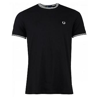 Fred Perry Authentics Twin Tip Crew Neck T-Shirt