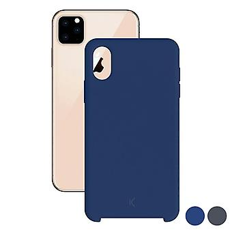 Mobiele cover Iphone 11 Pro Max Contact TPU/Zwart