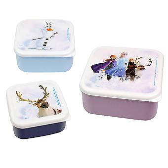 Frozen 2 - 3x Lunchboxes
