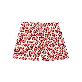 Benibeca Men's Ananas Printed Swim Shorts