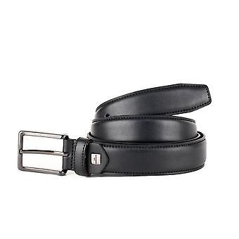 Black Formal Men's Belt