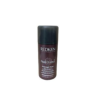 Redken Real Control Overnight Treatment Dry, Dense, Sensitized Hair 3.4 OZ