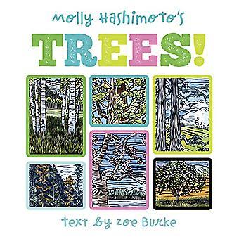 Molly Hashimoto's Trees! Board Book by Zoe Burke - 9780764986529 Book