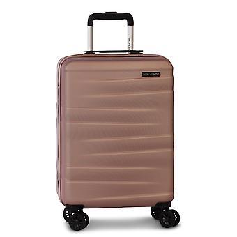 Fabrizio Worldpack Montreal Carro de equipaje de mano para mujer S, 4 ruedas, 55 cm, 38 L, rosa