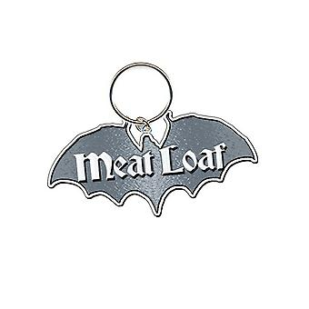 Meat Loaf Keyring Keychain Bat Out Of Hell Logo Official New metal