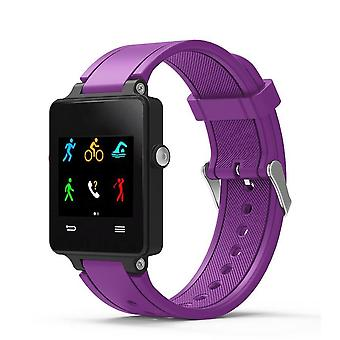 For Garmin Vivoactive Strap Replacement Wristband Bracelet With Tool[Purple]