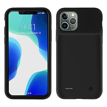 iPhone 11 Pro Hard Cover Protection 2 in 1 Batterie 3500mAh Soft-Touch Schwarz