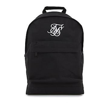Sik Silk Ss-15696 Basic Pouch Large Logo Backpack - Black