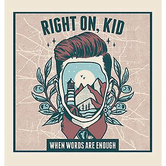 When Words Are Enough [CD] USA import
