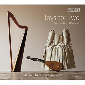 Byrd / Koll / Pianca - Legetøj til to [CD] USA import