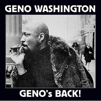 Geno Washington - Geno's Back [CD] USA import