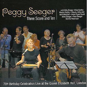 ペギー ・ シーガー - 3 スコア ・ 10-特徴ビリー [CD] USA 輸入
