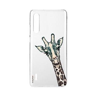 Hull For Xiaomi Mi 9 Lite Flexible Giraffe Head