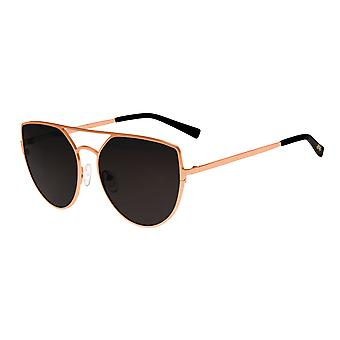 Sixty One Boar Polarized Sunglasses - Rose Gold/Black