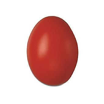 50 Red Hollow One Piece 60mm Plastic Easter Eggs