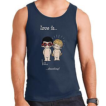 Love Is Dazzling Men's Vest