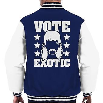 Tiger King Vote Joe Exotic Men-apos;s Varsity Jacket