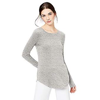Brand - Daily Ritual Women's Supersoft Terry Long-Sleeve Shirt With Sh...