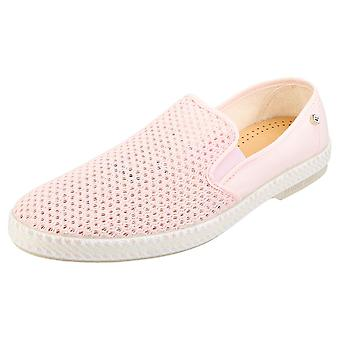 Rivieras Classic 20 Mens Espadrille Shoes in Pink