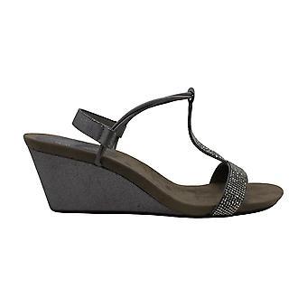 Stil & Co. dame Mulan2 åben tå speciel lejlighed Strappy sandaler