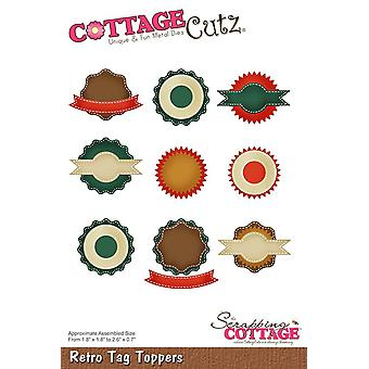 Scrapping Cottage Retro Tag Toppers