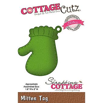 Scrapping Cottage CottageCutz Mitten Tag (Elites) (CCE-204)