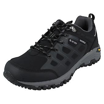 Mens Hi-Tec impermeable Walking Trainers V-Lite Velocity Low WP