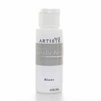 Pintura acrílica Docrafts (2oz) - Blanc (DOA 763260)