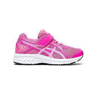ASICS Jolt 2 ジュニアキッズガールズランニングフィットネストレーニングトレーナー靴ピンク