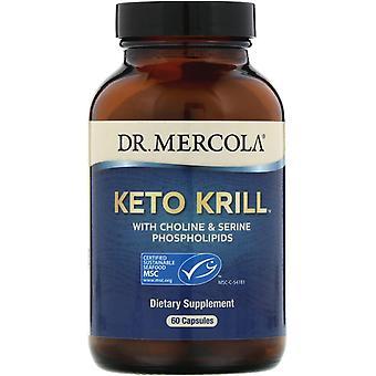 Dr Mercola, Keto Krill med kolin & serinefosfolipider, 60 kapslar