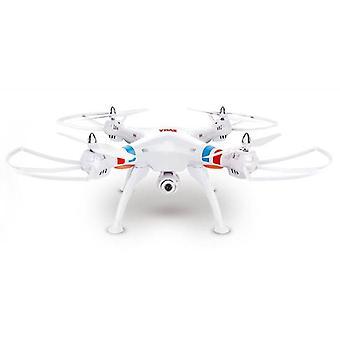 رباعية المروحية سيما X8C 2.4G 4 قنوات مع جيرو + كاميرا -أبيض