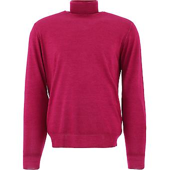 Lardini Imlmml162im55022705 Men's Fuchsia Wool Sweater
