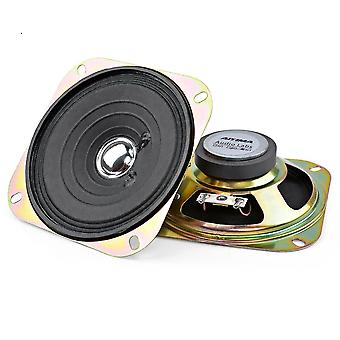 2pcs 4-inch Portable Audio-speakers, Column Full Range Music-sound Speaker