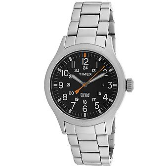 Timex Men's Allied Black Dial Uhr - TW2R46600
